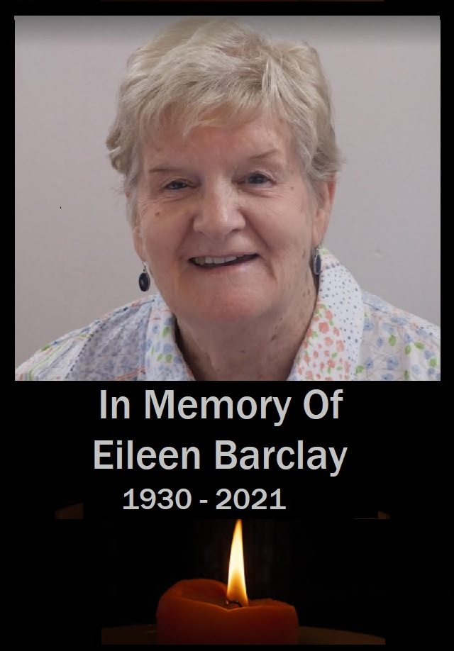 Obituary for Eileen Barclay